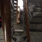 Old staircase - we had to build around it