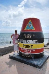 Anett - southern most point