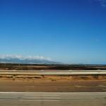 From west towards Honolulu